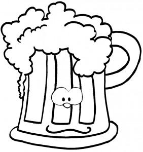 bicchiere birra progettoraccolta differenziata