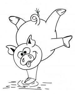 Piggy il maialino e la festa degli alberi