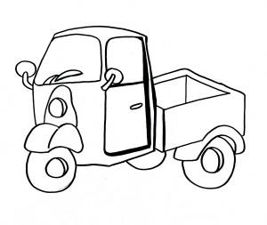 Il motocarro di Mr kilowattora
