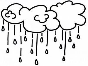 Nuvole e pioggia per la festa degli alberi