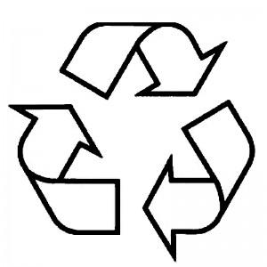 logo riciclaggio per raccolta differenziata progetto scuola primaria