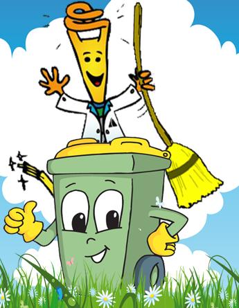 Mr Kilowattora e il riciclo dei rifiuti