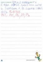 Samuele 2A pensiero progetto formativo scuola primaria