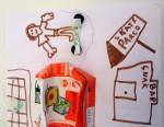 Dettaglio lavoretto di classe scuola primaria