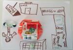 Lavoretto classe scuola primaria progetto rifiuti
