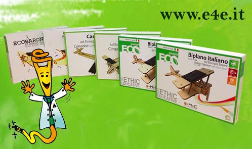 ecommerce giochi in legno ad eergia solare e4e.it