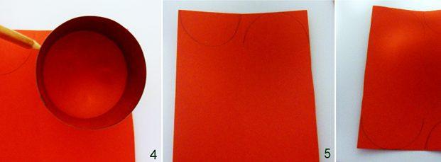 Istruzioni per creazione portatovaglioli natalizi con cartoncino