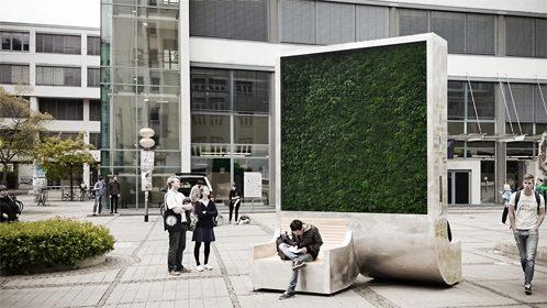 Cosa sono i city trees: la panchina che pulisce l'aria arriva in Italia