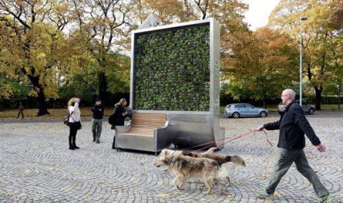 CityTree è la prima soluzione efficace per migliorare l'aria in città
